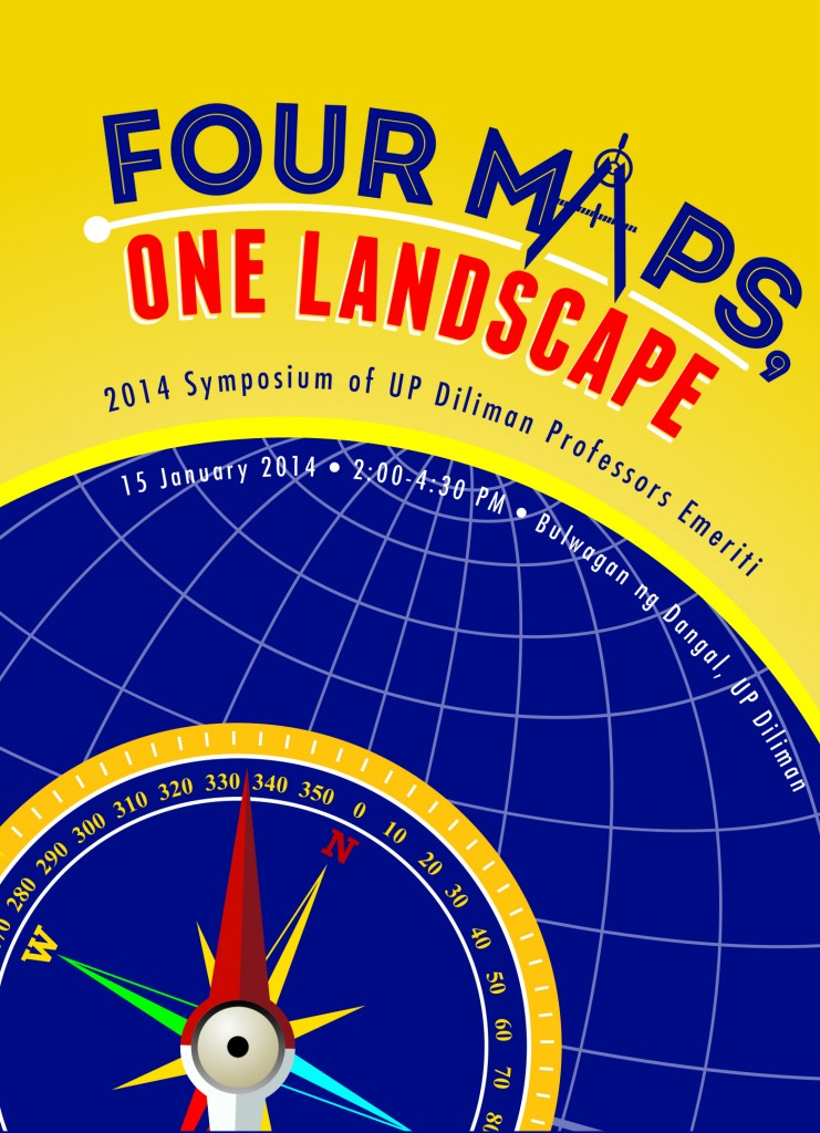 Four Maps, One Landscape: The 2014 Symposium of UP Diliman Professors Emeriti