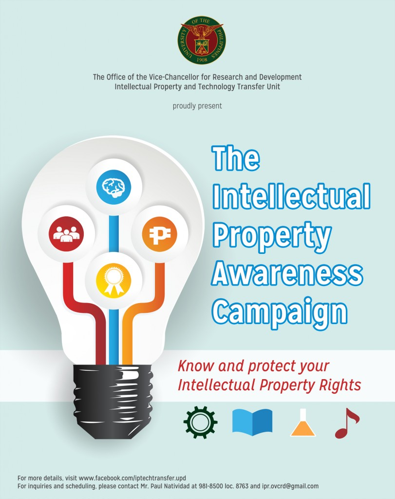 OVCRD Kicks Off Campaign on Intellectual Property Protection in UP Diliman