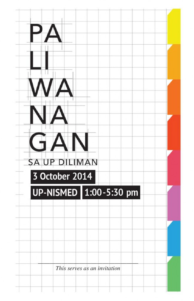 Paliwanagan sa UP Diliman on 3 October 2014