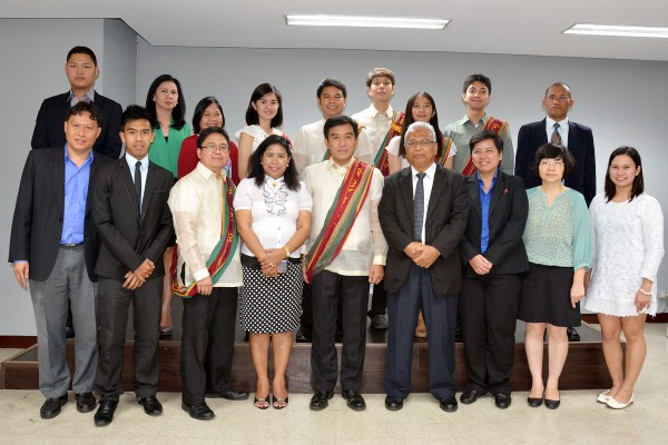 UP Diliman OVCRD with the ASEAN WIPO delegates during their Project Study Visit to the Philippines on 15 October 2015.