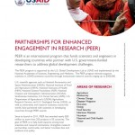USAID PEER Call for Applications